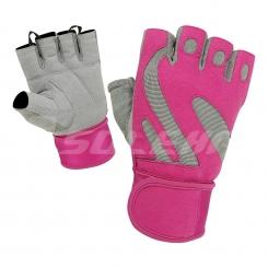 PINK PRO TRAINING GLOVES